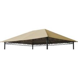 Grasekamp Ersatzdach 3x4m Stil Pavillon Sand  Ersatzplane Ersatzbezug Plane