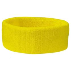 Frottee Stirnband | Myrtle Beach gelb