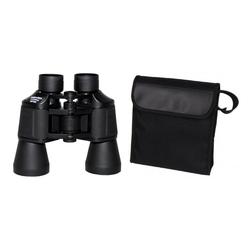 MFH Fernglas, faltbar, 20 x 50, schwarz, Kunststofftasche Fernglas (20 x Vergrößerung)