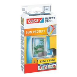 Fliegengitter »Sun Protect« 55806 für Fenster grau, tesa, 130x150 cm