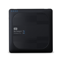 Western Digital My Passport Wireless Pro 4TB USB 3.0 schwarz (WDBSMT0040BBK-EESN)