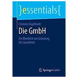 Die GmbH. Clemens Engelhardt  - Buch