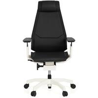 HJH Office Genidia Pro White Leder schwarz