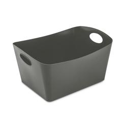 KOZIOL Aufbewahrungsbox Boxxx L Deep Grey 15 L