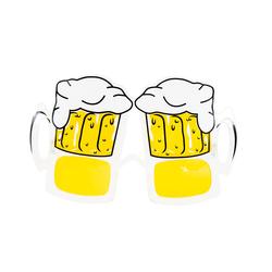 Bier Brille Spaßbrille Partybrille für Himmelfahrt Vatertag Oktoberfest Party Fasching Karneval