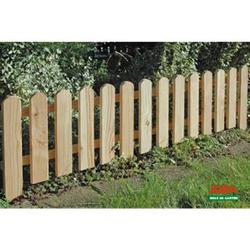 8x Steckzaun 120 x 30 cm Gartenzaun Holz Zaun Beetbegrenzung Lattenzaun