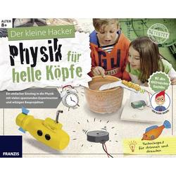 Franzis Verlag 65337 Physik für helle Köpfe Lernpaket ab 8 Jahre
