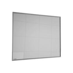 Infrarotheizung Zipris S 400, 400 W, Spiegelheizung mit Titan-Rahmen grau