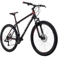 KS-CYCLING Xceed 27,5 Zoll RH 42 cm schwarz/rot