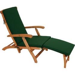 DEGAMO Auflage DENVER für Deckchair, grün