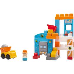 Mattel® Spielbausteine Mega Bloks Baustein-Spielzeug Baustelle