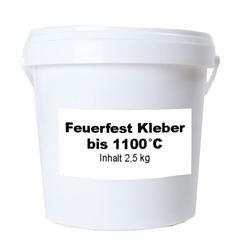 Feuerfestkleber 1100°C 2,5 kg