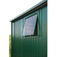 Biohort Fenster für Gerätehaus Europa dunkelgrau metallic, 50x60 cm)