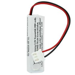 Batterie passend für die Maxell ER-6C Batterie mit Kabel und Stecker