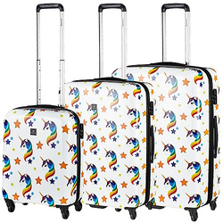 Saxoline Unicorn 4-Rollen-Trolley Set 3-tlg. - unicorn