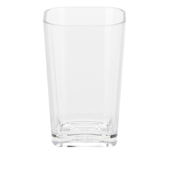 Becher Kristall PS-Kunststoff transparent 7,5x7,5x12cm