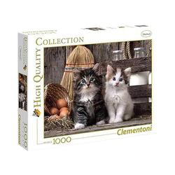 Clementoni® Puzzle Clementoni - Lovely Kittens, 1000 Teile Puzzle, 1000 Puzzleteile
