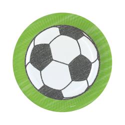 Amscan Kindergeschirr-Set Partyset World Cup, 60-tlg.