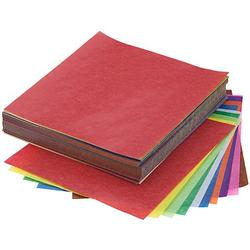 Transparentes Faltpapier, bunt, 16 x 16 cm, 600 Blatt