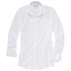 Functional Twill Hemd Modern Fit Men - 46 - weiß
