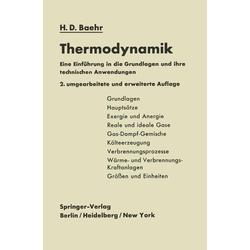Thermodynamik: eBook von Hans Dieter Baehr