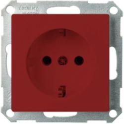 ELSO ELG265059, Steckdose ohne Kralle 16A Joy Steckklemme rot