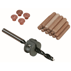 Wolfcraft Dübel-Set Ø 8 mm, 31 teilig