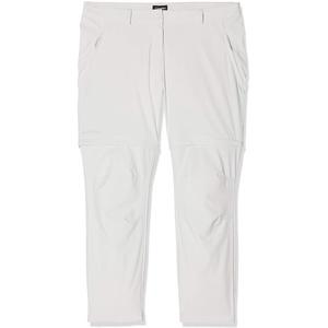 Schöffel Pants Ascona Zip Off, leichte und komfortable Damen Hose mit optimaler Passform, flexible Outdoor Hose für Frauen Damen, gray violet, L