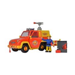 SIMBA Spielzeug-Auto Feuerwehrmann Sam - Feuerwehrauto Venus mit Figur