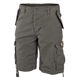 Mil-Tec Paratrooper Shorts Prewash oliv, Größe XXL