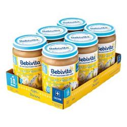 Bebivita Apfel-Banane Quark 190 g, 6er Pack