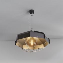 Retro Industrielampe RAFI ø 45 cm Schwarz