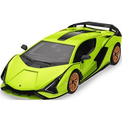Jamara RC-Auto Lamborghini Sián FKP 37, Bausatz grün Kinder RC Auto Autos, Eisenbahn Modellbau