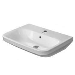 Duravit Waschtisch DURASTYLE 650x440mm 1 HL we WG