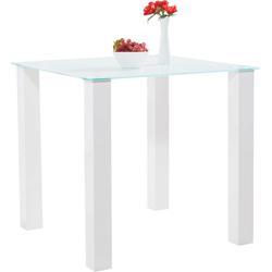 Esstisch, in 2 Größen Quadrat - 80 cm x 76 cm x 80 cm