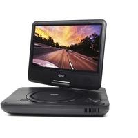 Xoro HSD 901 Tragbarer DVD Player mit integriertem Mediaplayer Portabler DVD-Player Cabrio 22,9 cm 9 Zoll) 800 x 480 Pixel Schwarz