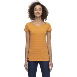 Tshirt RAGWEAR - Mint Zig Zag Curry (CURRY) Größe: S