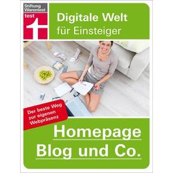 Homepage Blog und Co. als Buch von Patrick Lobacher