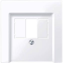 Merten Abdeckung TAE-Steckdose Weiß 296025