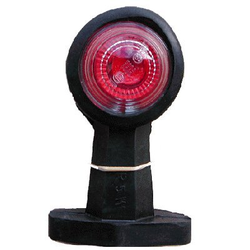 Begrenzungslicht gerade 120 mm rot/weiß