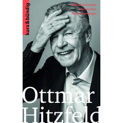 Ottmar Hitzfeld als Buch von Wolfram Porr