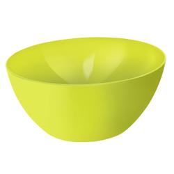 Rotho CARUBA Schüssel, 8 Liter, Schüssel aus Kunststoff, Maße: 340 x 340 x 150 , Farbe: lime grün