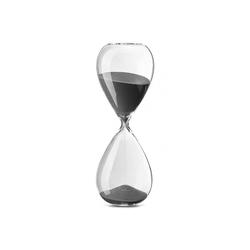 PHILIPPI Dekofigur Philippi Lala Meeting Timer 1 Stunde Sanduhr aus Borosilikatglas mit Sand H 30 cm