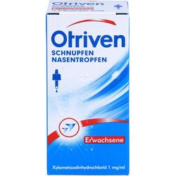 OTRIVEN 0,1% Nasentropfen f.Erw.u.Schulkdr. 10 ml