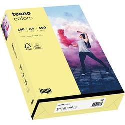 tecno Kopierpapier colors hellgelb DIN A4 160 g/qm 250 Blatt