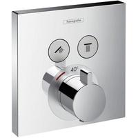 HANSGROHE ShowerSelect Thermostat Unterputz für 2 Verbraucher chrom 15763000