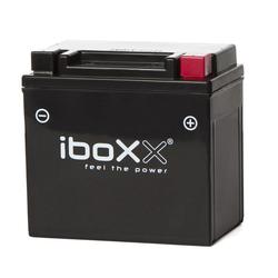 Iboxx Motorrad-Batterie  Gel, YTX7L-BS, 12 Volt, 6 Ah
