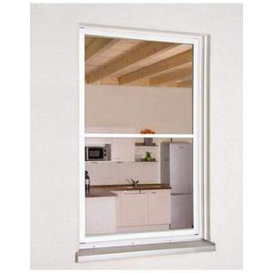 Fliegengitter Fensterbausatz Master XL SLIM 130x220cm weiss 101580101-VH
