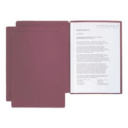 Bewerbungsmappe »Solo« rot, Pagna, 22x31 cm