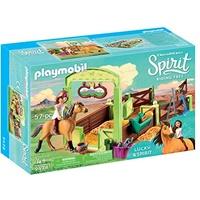 Playmobil Spirit Riding Free Pferdebox Lucky & Spirit (9478)